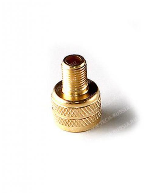 Наружный ПЕРЕХОДНИК-адаптер для подкачки вентилей с БОЛЬШИМ диаметром