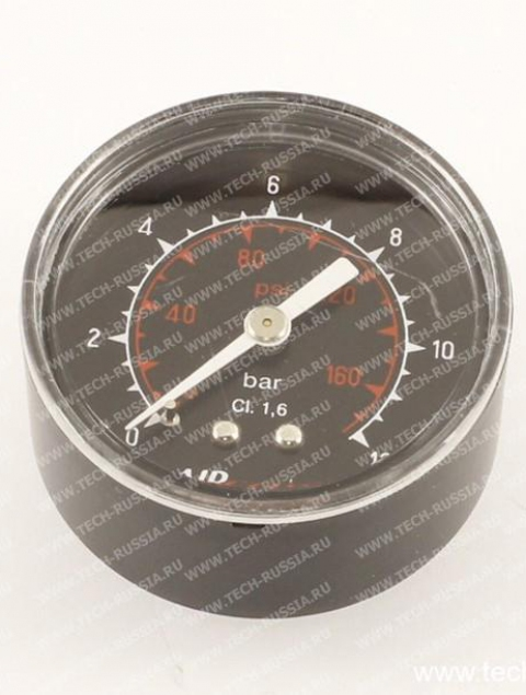 """Манометр 1/8""""  0-12 Bar, диаметр 50 мм."""