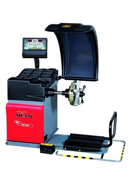 Стенд балансировочный автомат с LCD монитором SBM 855 ПОД ЗАКАЗ