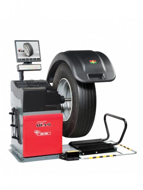 Стенд балансировочный автомат с LCD монитором SBM V955 ПОД ЗАКАЗ
