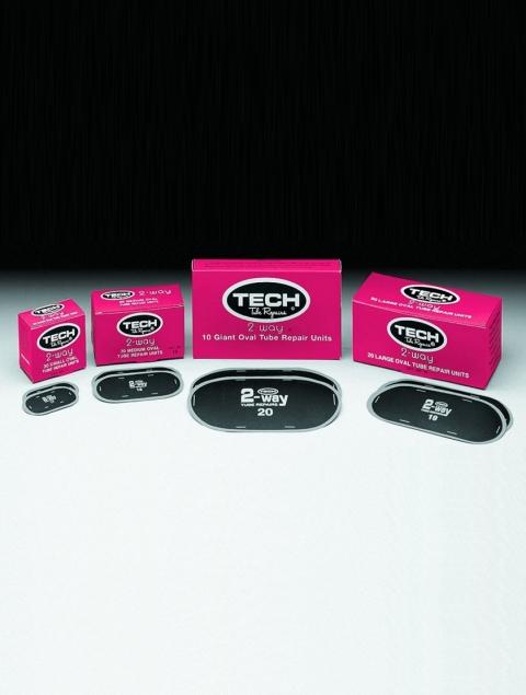 Средняя круглая заплата (TECH 2-WAY) для автомобильных камер 60 мм
